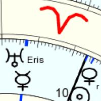 #Mercure dans sa boucle rétro en conjonction Uranus/Eris