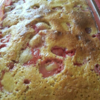 #Clafoutis aux #fraises
