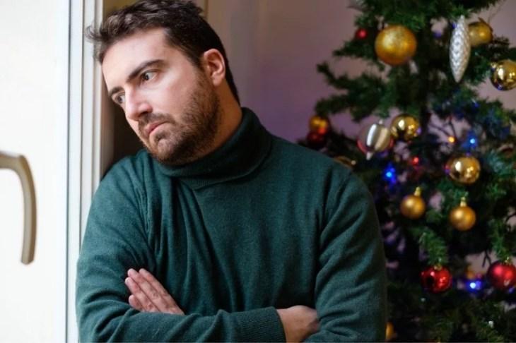 ensam på julen
