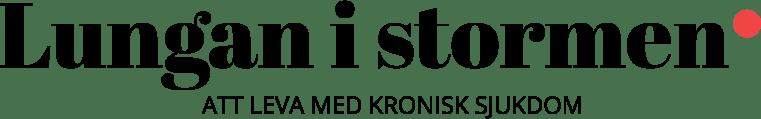 Lungan i stormen - att leva med kronisk sjukdom logo
