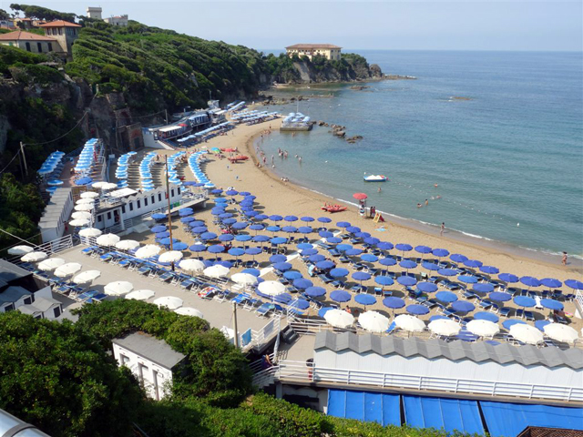 Castiglioncello Bagno Italia Al Quercetano