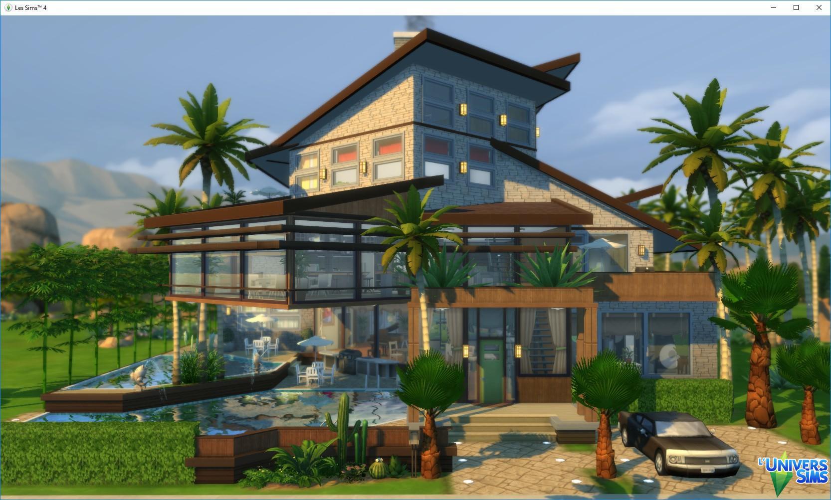 Maison Les Sims 4 Gamboahinestrosa
