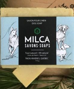 Savon pour chien MILCA
