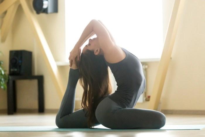 Эка пада раджакапотасана - йога против стресса