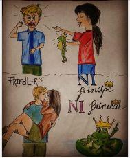 Fan Art ganador del concurso de Ni Príncipe Ni princesa
