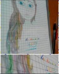 FanArt de La Chica de los colores por Antonella
