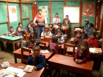 School in the highlands of Guatemala