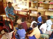 Classroom in Fiji