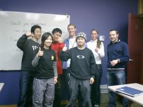 Adult English class in Whistler, Canada