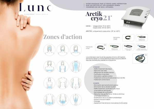 Présentation du soin Arctik Cryo 21