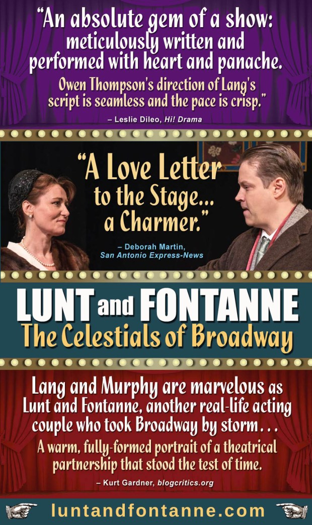 LUNT AND FONTANNE