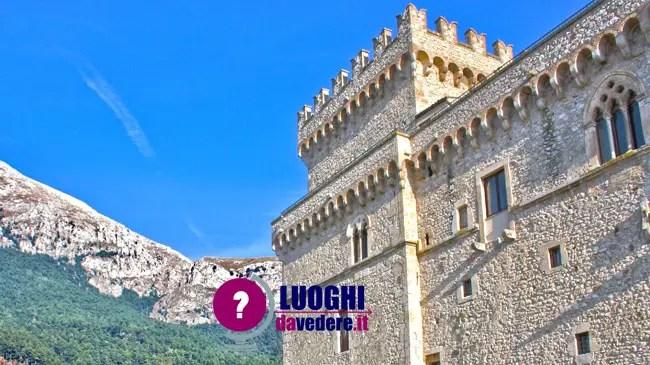 Castello Piccolomini a Celano la terrazza panoramica sul lago scomparso  Luoghi da vedere