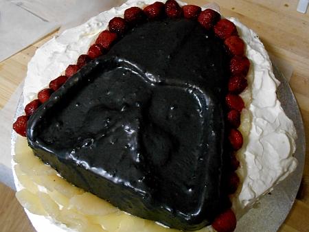 Darth Vader kakku