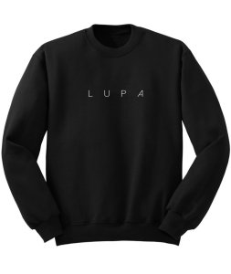 Lupa Merch - Black Sweater