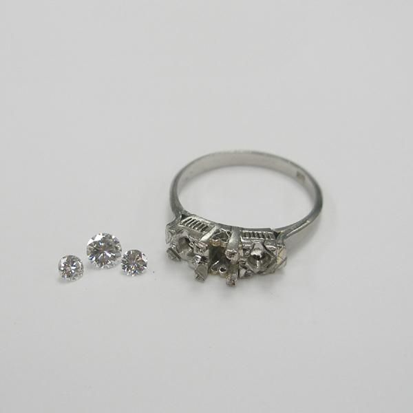 形見のダイヤモンドリング