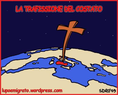 trafissione del costato - italia - vaticano