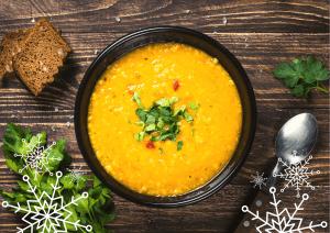 Warming Red Lentil Sweet Potato Soup Recipe