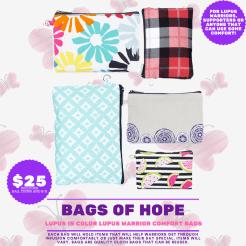 BAGS OF HOPE $25 +$3 S/H