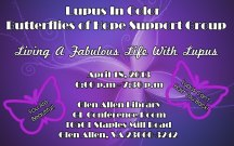 """""""Living a Fabulous Life with Lupus"""" An evening of Guided Relaxation & Visions of the Future No matter what you have been through you can still be the fabulous you. You Are Still Beautiful! Lupus Can't Hold You Back!"""