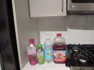 Title: A Healthier Choice than Soda Caption: These are drinks that taste good and there's no added sugar. And the seltzer water satisfies my craving for soda. Photographer: Elaine
