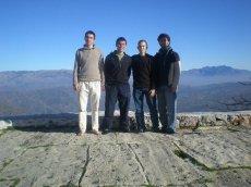 The four of us (Hamza, Umar, Abdelkader and myself)