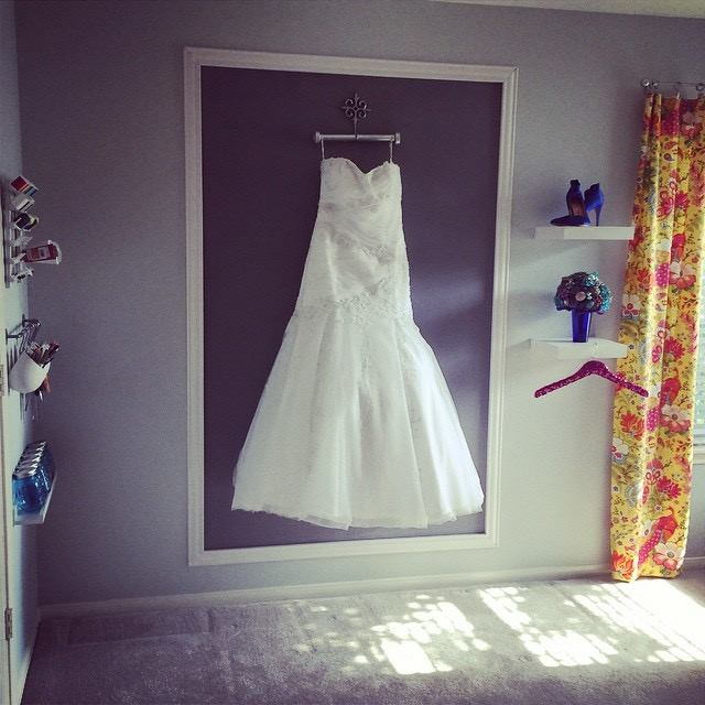 framed wedding dress luralumsden.com
