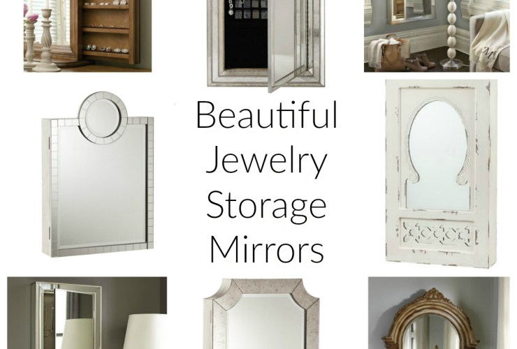 Jewelry Storage Mirrors
