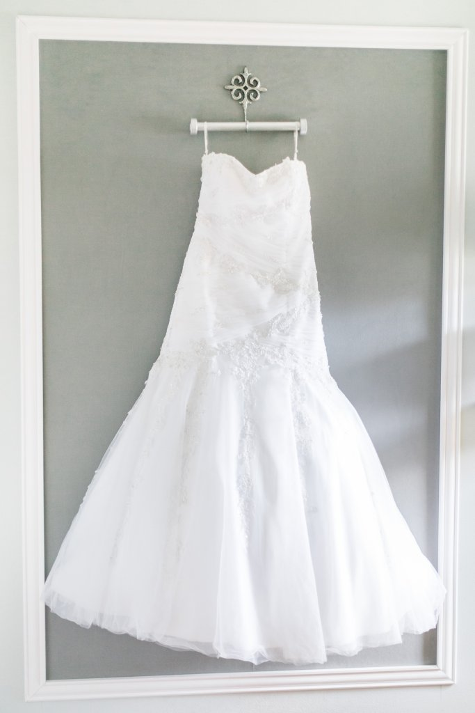 Frame your wedding dress Craft Room tour