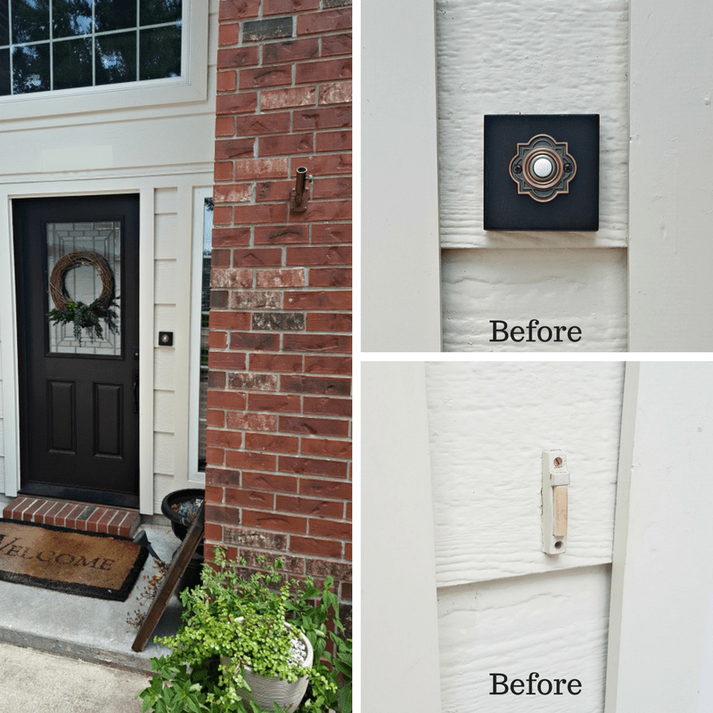 door bell push button replacement