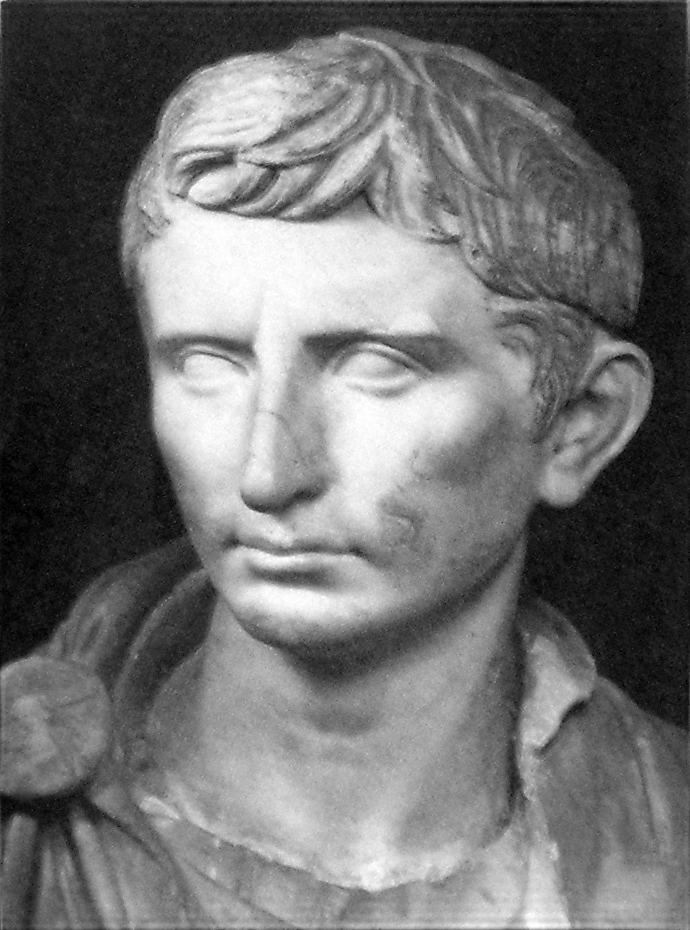 Roman Adoption. A statue of the first Roman Emperor Augustus (r. 27 BC - 14 AD) as a younger Octavian One of the most famous Roman adoptees
