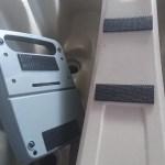 カヤック艤装に最適なマジックテープを発見!トライブ9.5 魚探取付