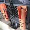 トライブ9.5 カヤックに穴あけ無しで簡単に自作ロッドホルダー艤装