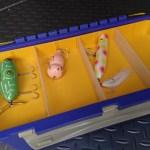タックルボックスの仕切り板をダ〇ソーのPPシートで自作してみる
