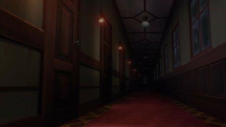 hallway another dark empty episode anime manor rp jest closed visit