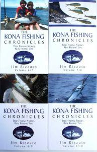 Kona Fishing Chronicles Covers