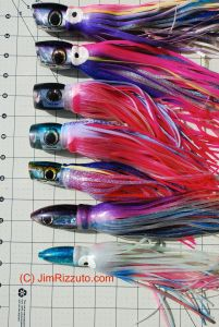 Part of my personal collection of Polu Kai lures.