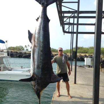 Biggest blue, first black, longest fight, oddest catch