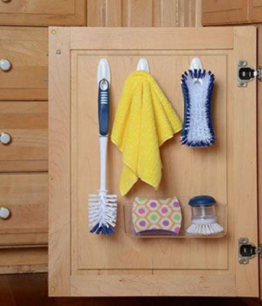 Kitchen Cabinet Door Storage and Organization