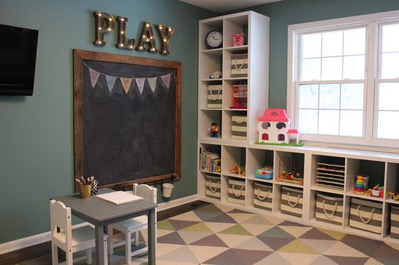Toddler Playroom Organization Ideas