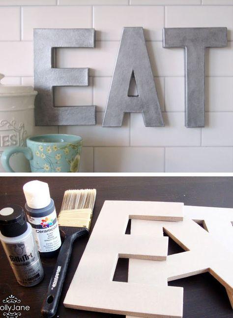 DIY On A Budget - Kitchen Decor