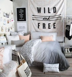 teen girl bedroom makeover and decorating ideas teenage room makeover on a budget cheap [ 1080 x 1080 Pixel ]