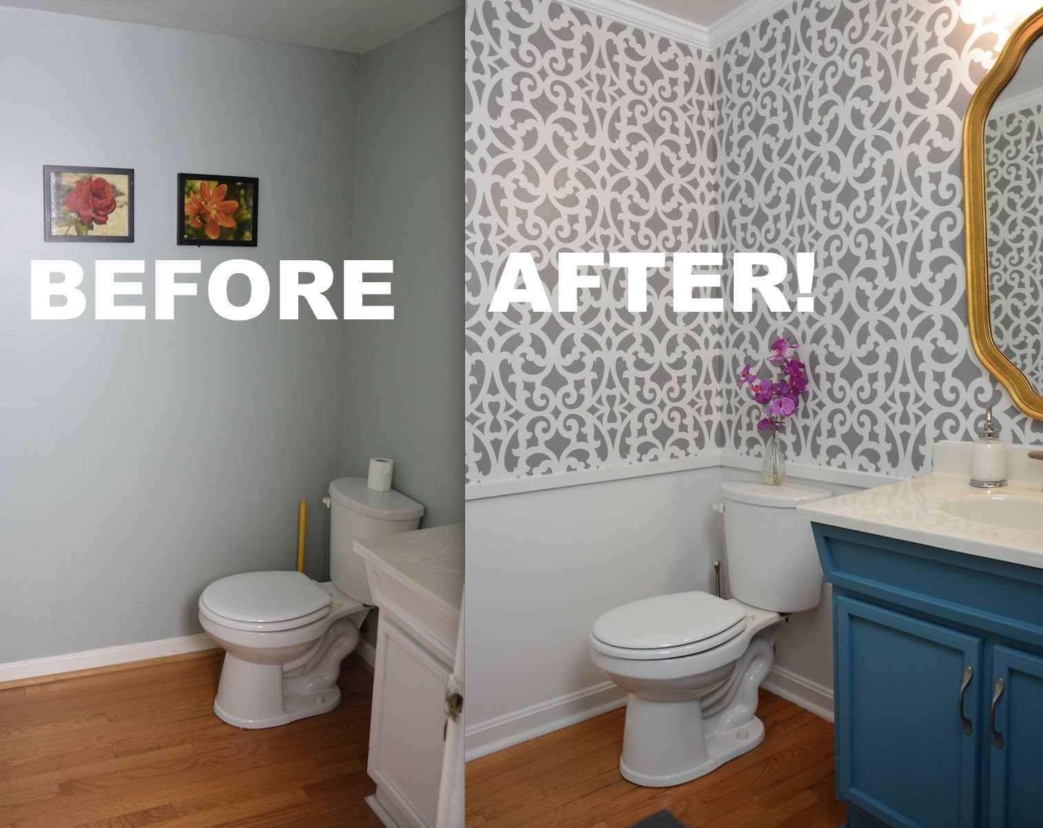 Easy DIY Bathroom Makeover Ideas  Lures And Lace