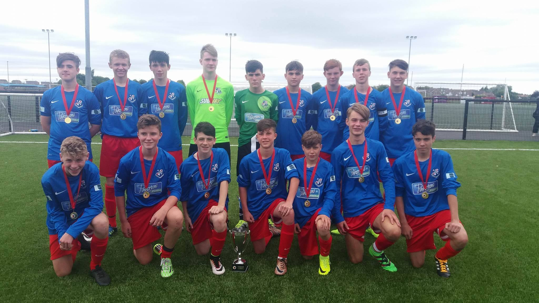 cup winners loughgall