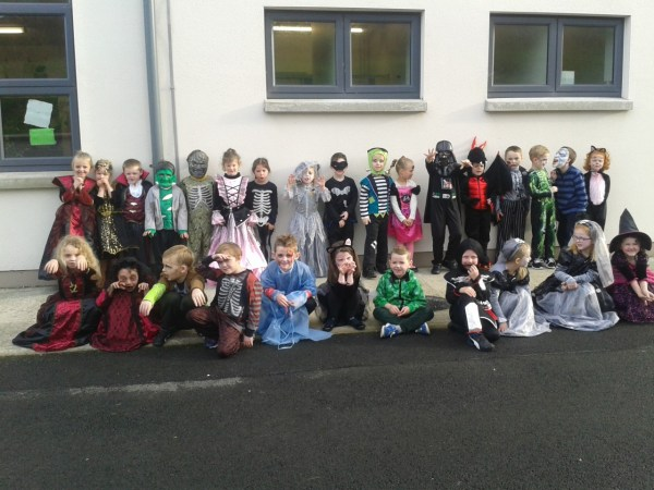 Halloween Dress Day Lurgybrack National School