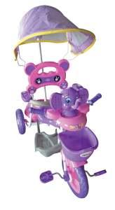 Triciclo con manija IMPERIO Elefantito