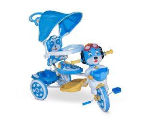 Triciclo con manija musical Stark Perrito