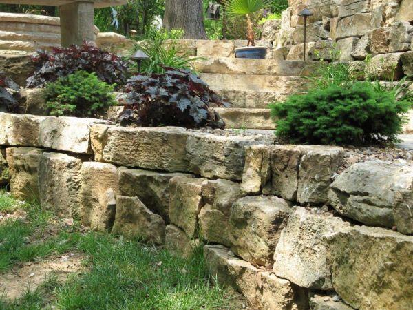boulders weathered limestone
