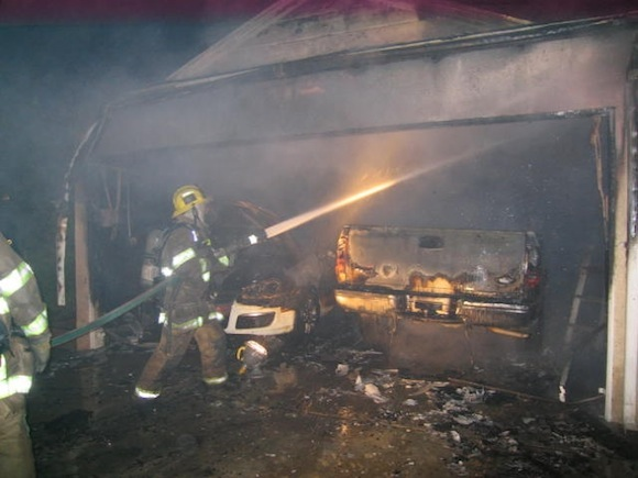FIRE SWEEPS THROUGH A GARAGE IN NGWERERE WARD