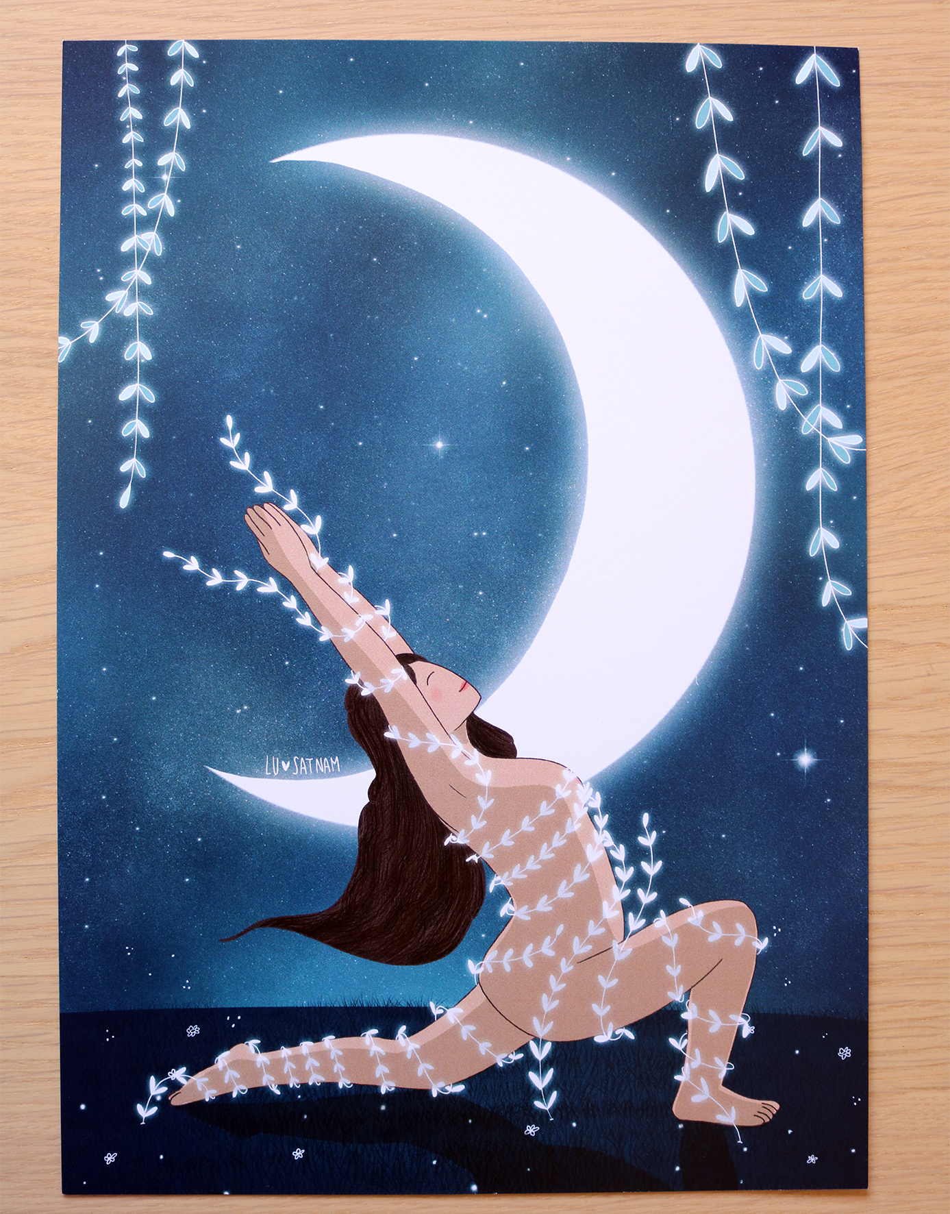 Lámina «luna creciente»