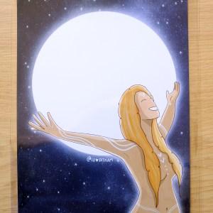 lamina luna llena